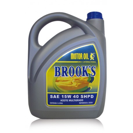 Aceite Brook´s - SAE 15W40 SHPD