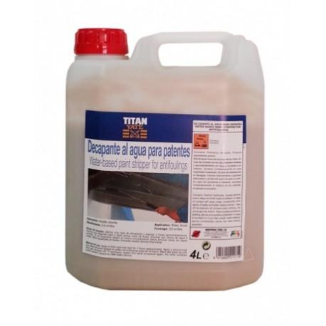 Decapante Al Agua Para Patentes Titan 4L.