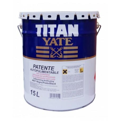 Patente Autopulimentable Titan Yate 15l.