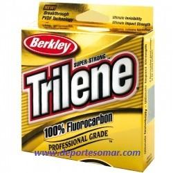 Fluorocarbon 100%  Berkley Trilene 50m.
