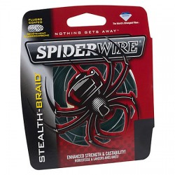 Hilo Trenzado Spiderwire Stealth-Braid 137m.