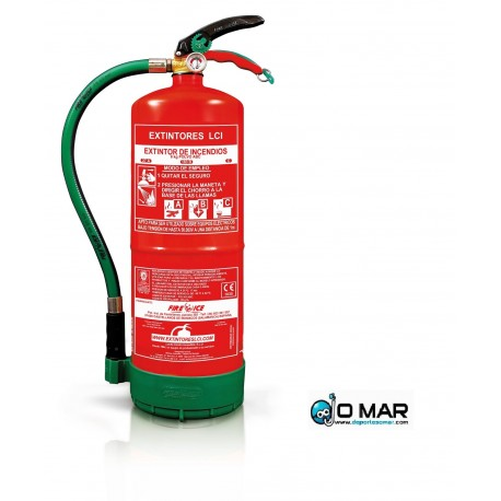 Extintor Homologado Marina Mercante SOLAS 6Kg.