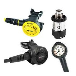 Kit regulador / octopus / manometro