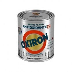 Barniz Antioxidante Oxiron Al Agua 750ml. Satinado