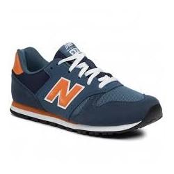 Zapatilla New Balance 373 azul/naranja