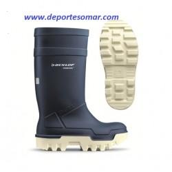 Bota Dunlop Purofort Thermo + Azul